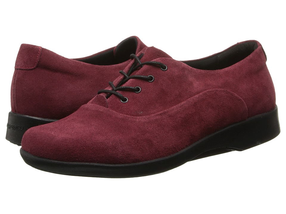 Arcopedico - W12 (Cherry Suede) Women's Shoes