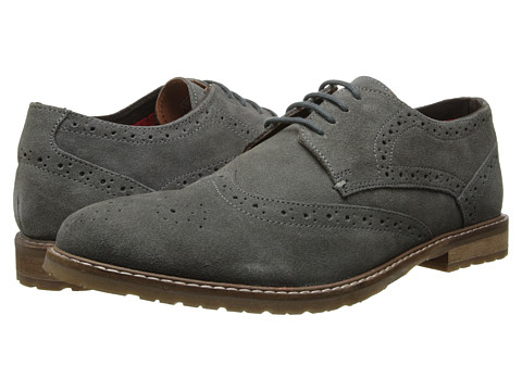 Ben Sherman - Bergen Suede (Grey) Men's Shoes