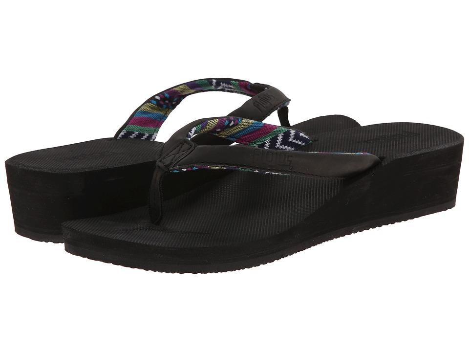 Flojos - Piper (Black) Women's Shoes