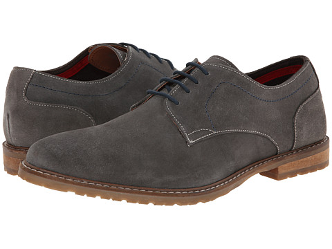 Ben Sherman - Beldon Suede (Grey) Men's Lace up casual Shoes