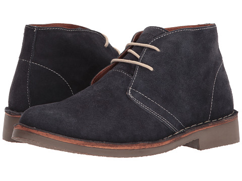 Ben Sherman - Clegg Suede (Dark Navy) Men's Lace-up Boots