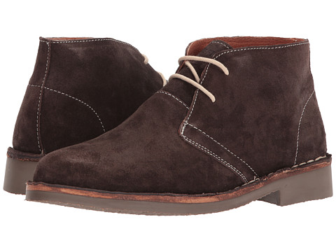 Ben Sherman - Clegg Suede (Dark Brown) Men's Lace-up Boots