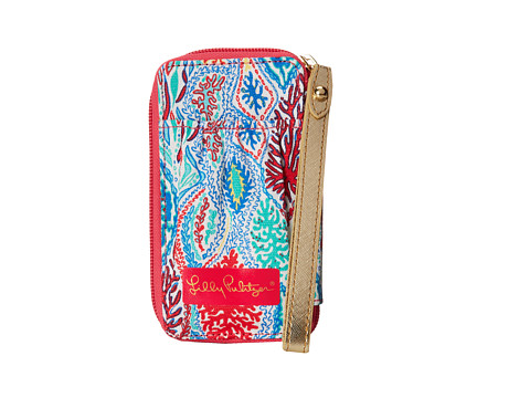 Lilly Pulitzer - Carded ID Smart Phone Wristlet (Multi Let Minnow) Wristlet Handbags