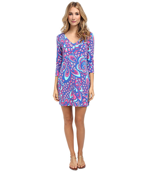 Lilly Pulitzer - Clarke Dress (Brewster Blue Reel Me In) Women's Dress