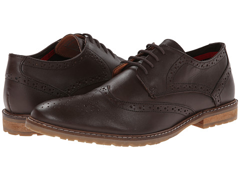 Ben Sherman - Bergen Brogue (Brown) Men's Lace up casual Shoes