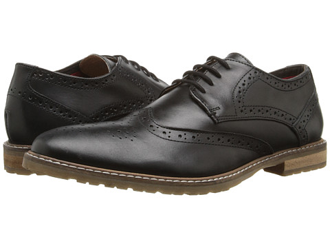 Ben Sherman - Bergen Brogue (Black) Men's Lace up casual Shoes