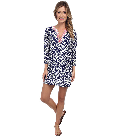 Lilly Pulitzer - Courtney Tunic Dress (Bright Navy Treasure) Women