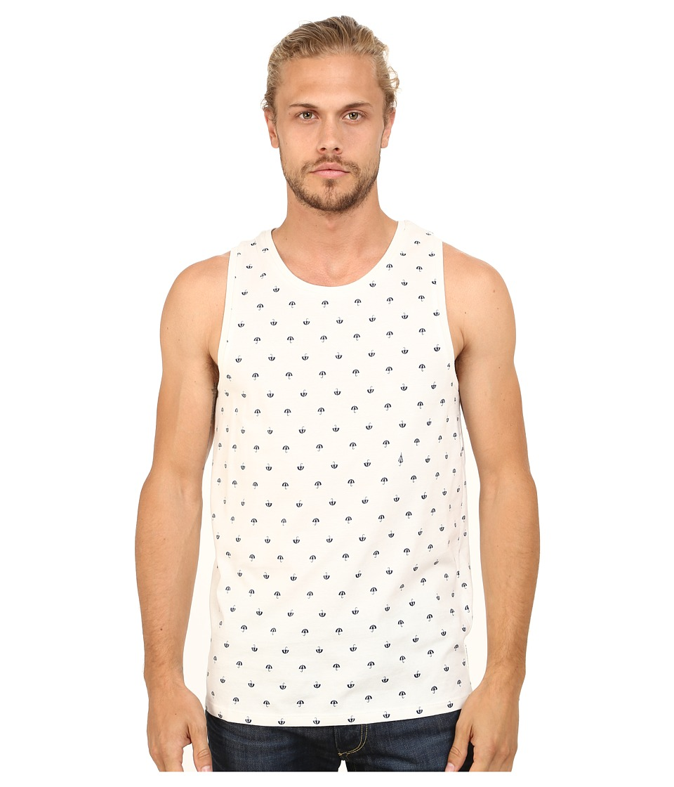 Ben Sherman - Umbrella Print Vest (Off White) Men's Vest