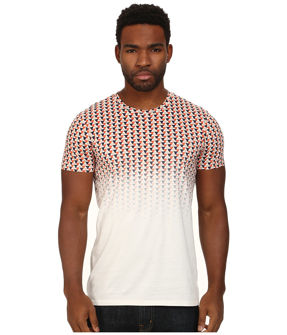 Ben Sherman - Ombre Print Tee (Off White) Men's T Shirt