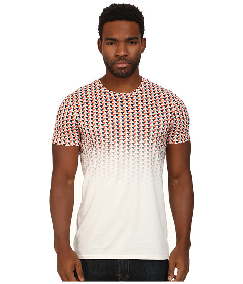 Ben Sherman - Ombre Print Tee (Off White) Men