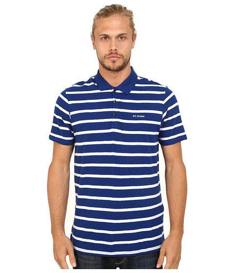Ben Sherman - Breton Stripe Polo (Royal Blue) Men