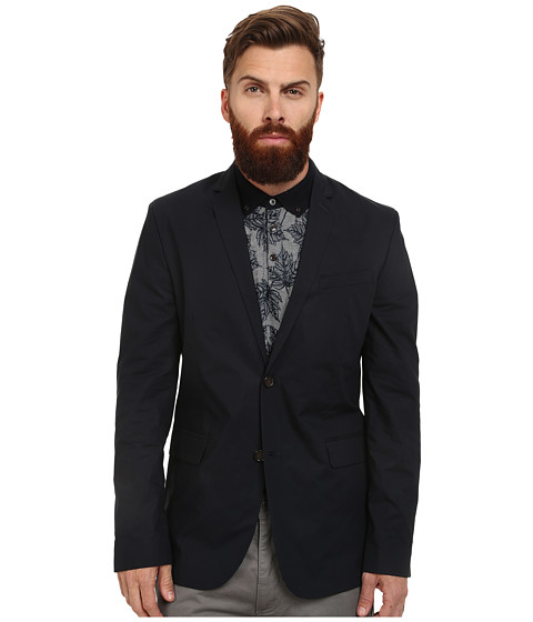 Ben Sherman - Paper Touch Blazer (Staples Navy) Men's Jacket