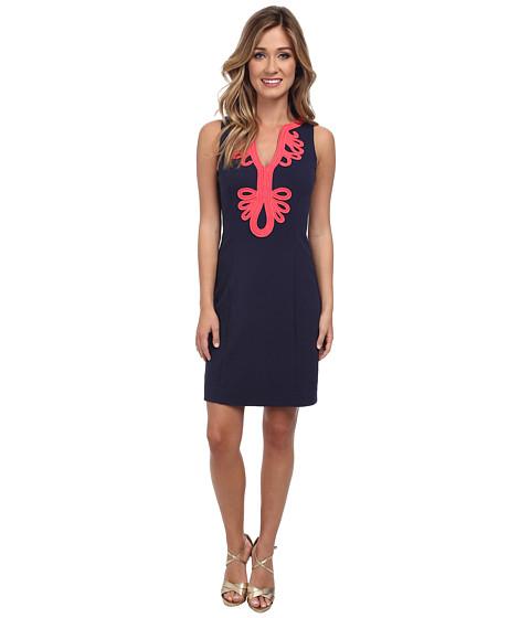 Lilly Pulitzer - Janice Knit Shift Dress (True Navy) Women
