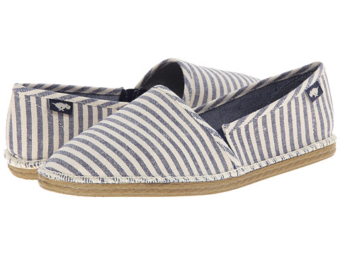 Rocket Dog - Henna (Navy Summer Tote) Women's Slip on Shoes