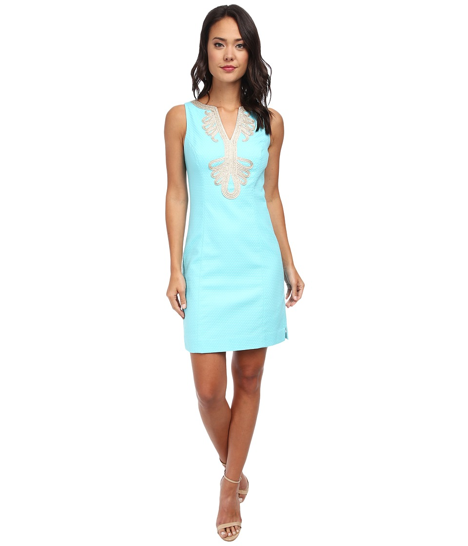 Lilly Pulitzer - Janice Shift Dress (Shorely Blue 1) Women's Dress