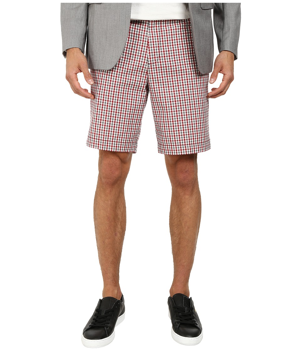 Ben Sherman - House Gingham Short (Dawn Red) Men's Shorts