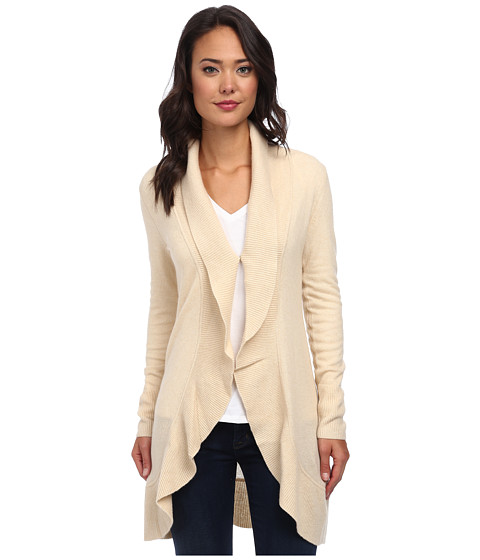 Lilly Pulitzer - Lindsay Cashmere Cardigan (Heathered White) Women's Sweater