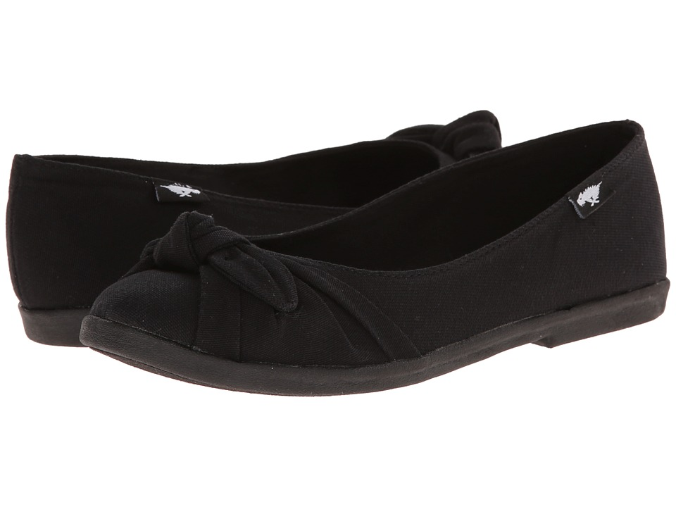 Rocket Dog - Jiggy (Black Fresno) Women's Flat Shoes