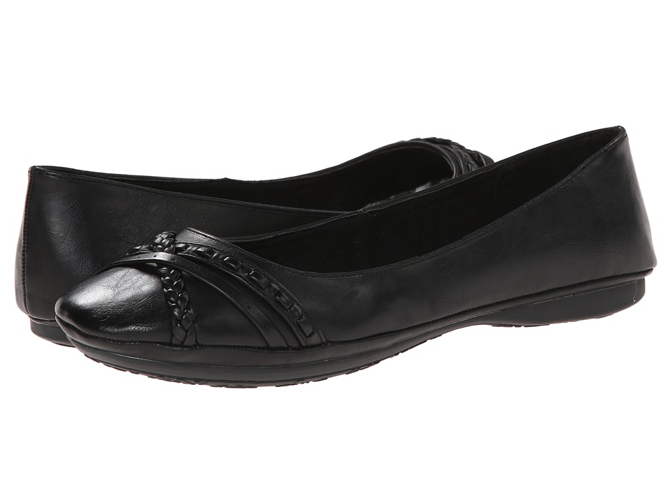 Rocket Dog - Roty (Black Bromley) Women's Flat Shoes