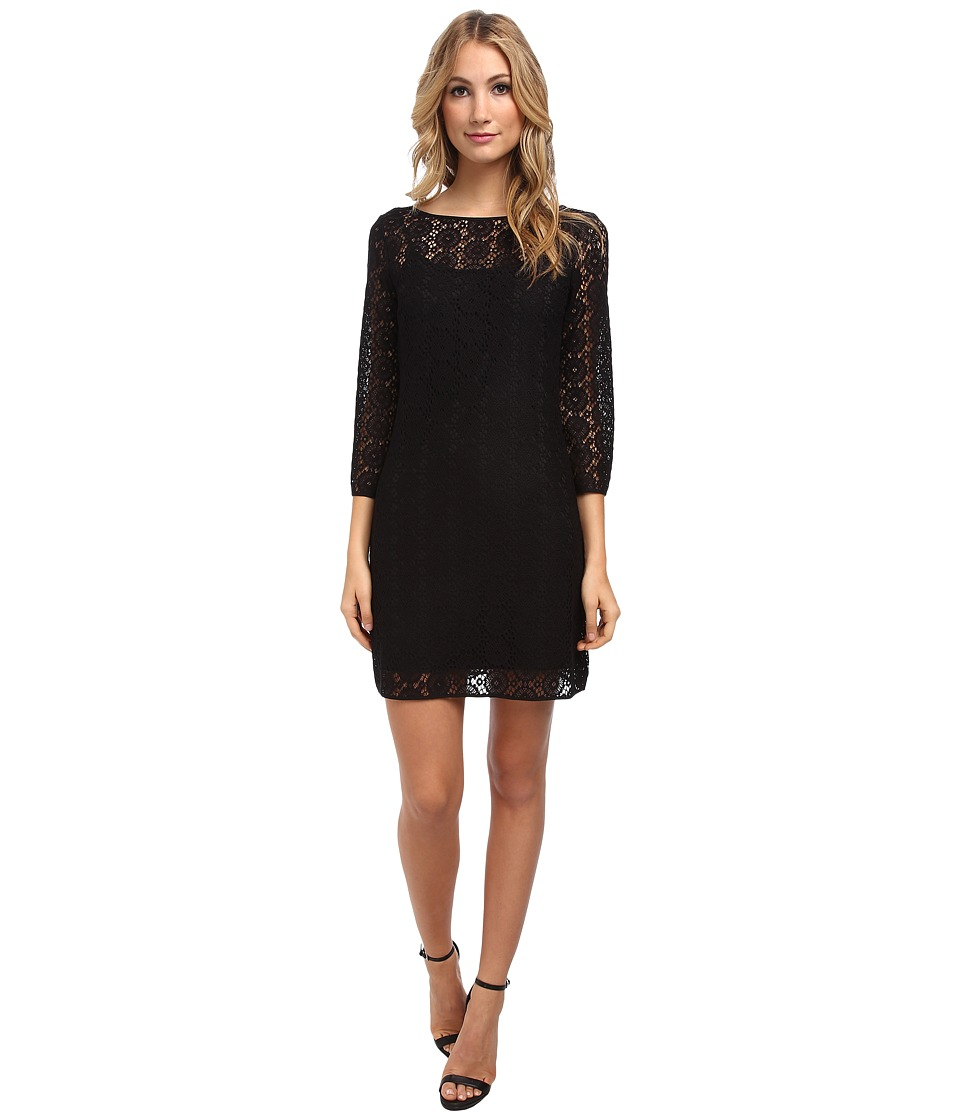 Lilly Pulitzer - Topanga Dress (Black Breakers Lace) Women's Dress
