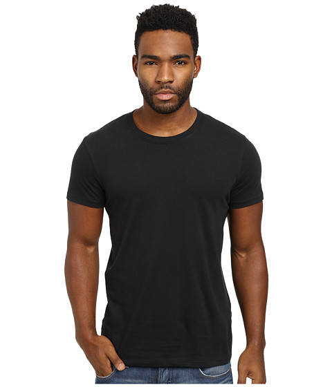 Ben Sherman - Short Sleeve Tee Base Crew Neck (Jet Black) Men's T Shirt
