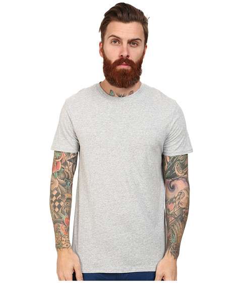 Ben Sherman - Short Sleeve Tee Base Crew Neck (Oxford Marl) Men