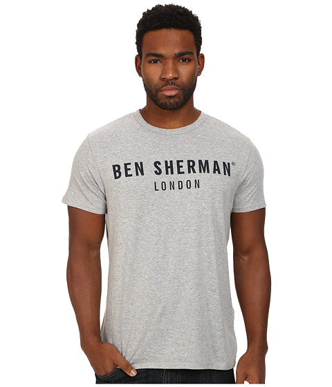 Ben Sherman - Ben Sherman London Tee (Oxford Marl) Men's T Shirt
