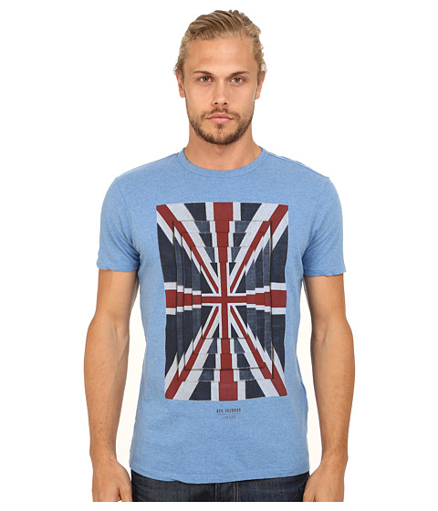 Ben Sherman - Union Optic Tee (Dark Sky Marl) Men's T Shirt