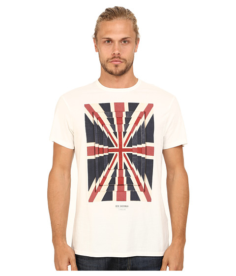 Ben Sherman - Union Optic Tee (Off White) Men