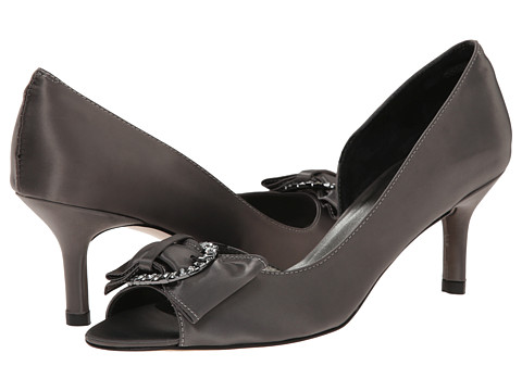rsvp - Madra (Pewter Loc Satin) High Heels