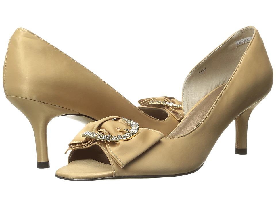 rsvp - Madra (Champagne Loc Satin) High Heels