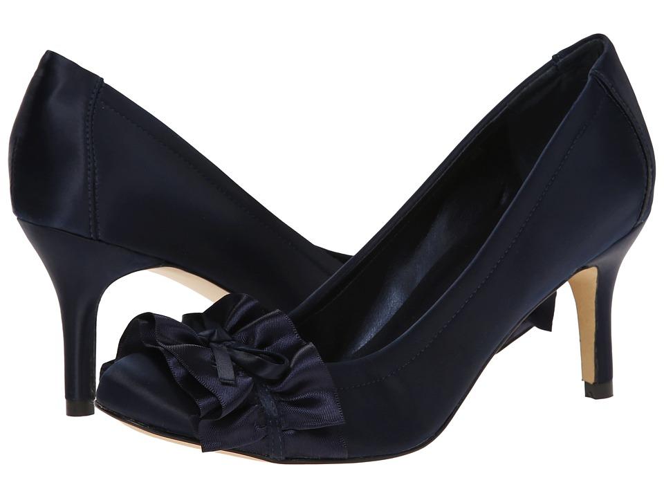 rsvp - Ulan (Navy Loc Satin) High Heels