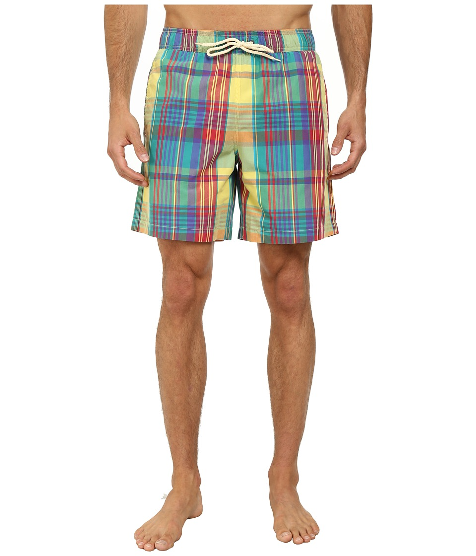 Ben Sherman - Madras Check Swim (Candy Yellow) Men's Swimwear