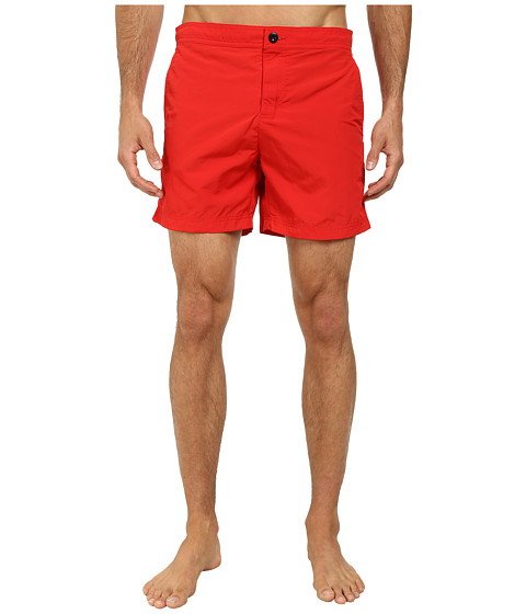 Ben Sherman - Tailored Waist Plain Swimwear (Letterbox Red) Men