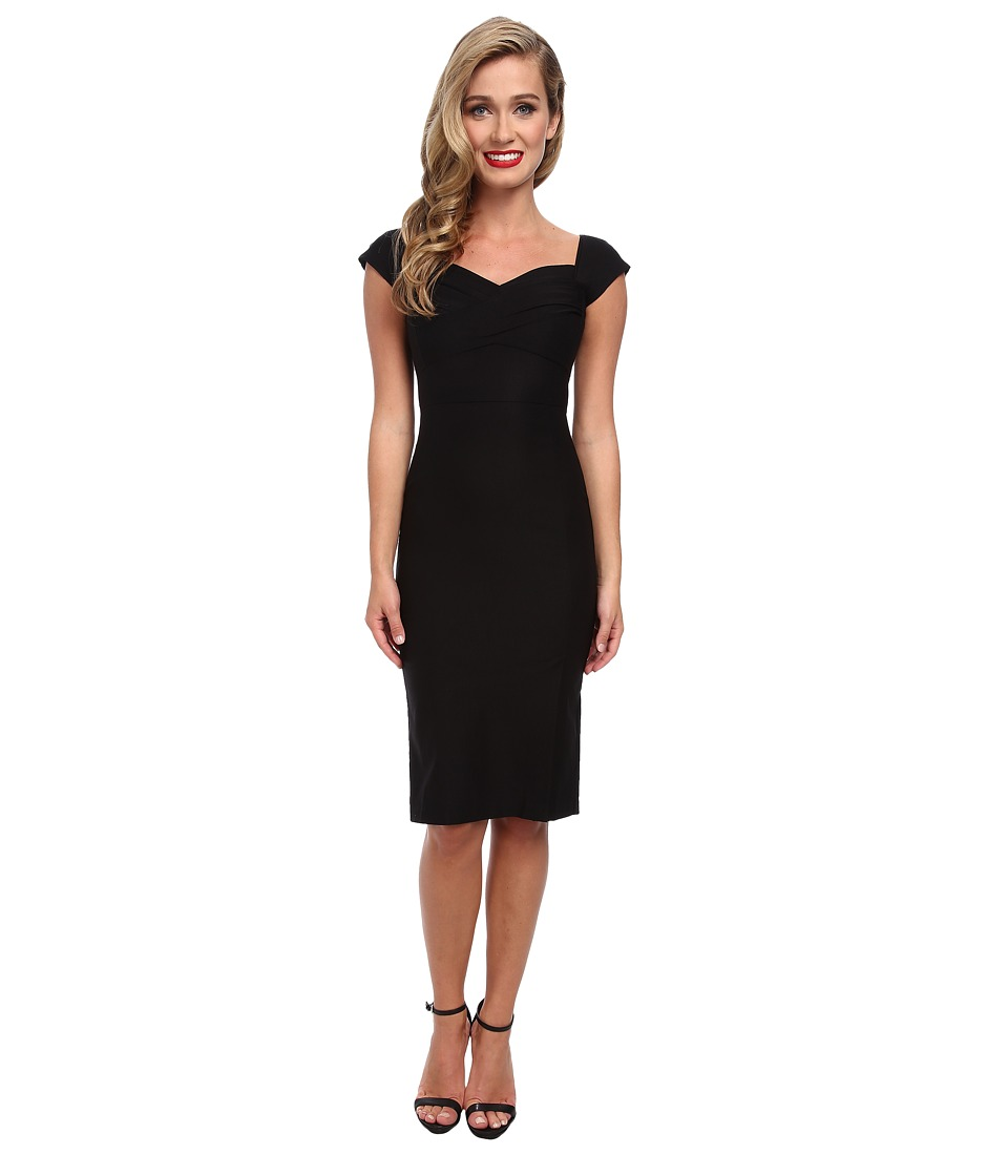 Stop Staring! - Short Sleeve Dress (Black) Women's Dress