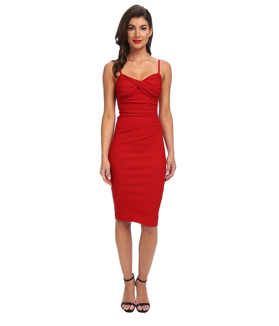 Stop Staring! - Spagetti Strap Dress (Red) Women's Dress