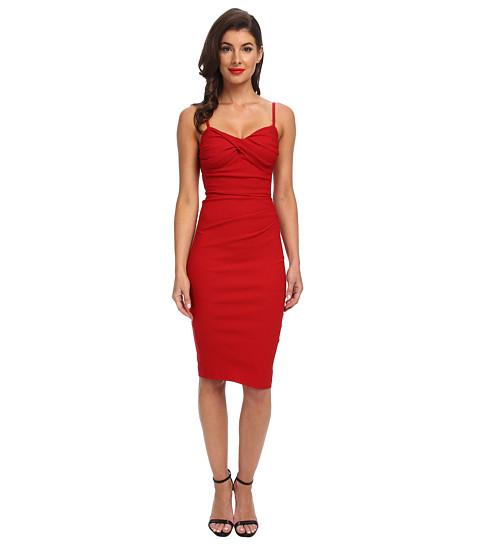 Stop Staring! - Spagetti Strap Dress (Red) Women's Dress