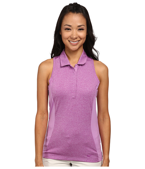 Nike Golf - Luxe Racerback (Violet Shock/Violet Shock/Bold Berry) Women's Sleeveless