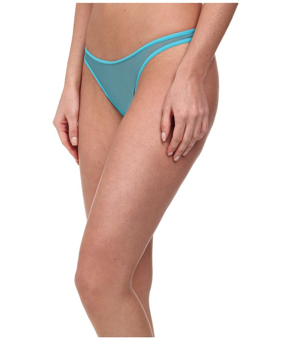 Cosabella - Soir Classic Lowrider Thong (Babylon Blue) Women's Underwear