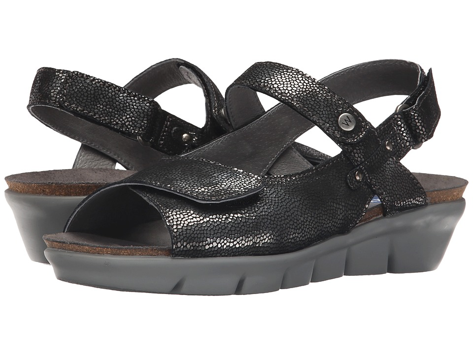 Wolky - Twinkle (Black) Women's Sandals