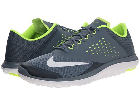 Nike - FS Lite Run 2 (Blue Graphite/Volt/White) Men's Running Shoes