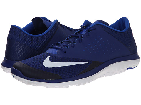 Nike - FS Lite Run 2 (Deep Royal Blue/Lyon Blue/White) Men's Running Shoes