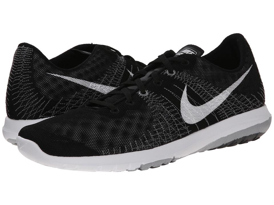 Nike - Flex Fury (Black/Wolf Grey/Cool Grey/White 2) Men's Running Shoes