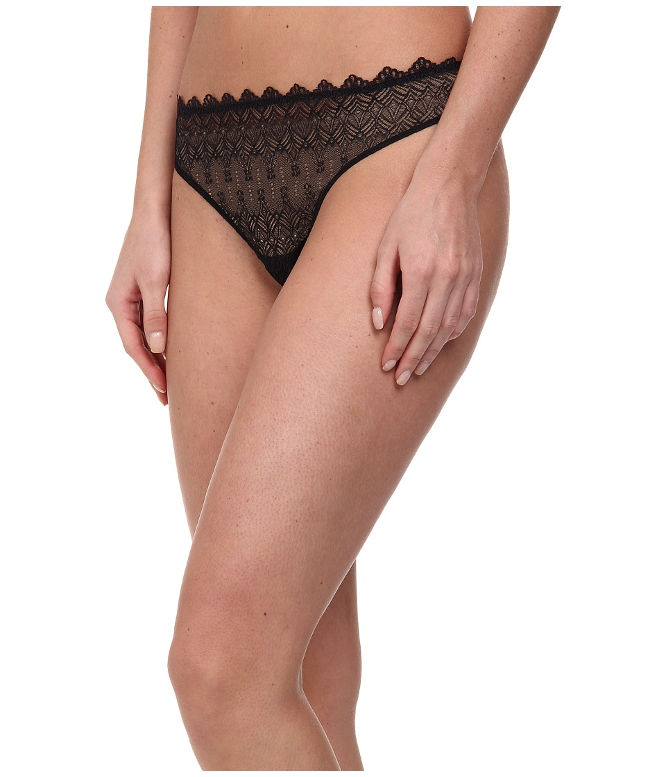 Cosabella - Papyrus Lowrider Thong (Black) Women's Underwear