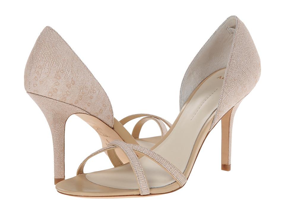 Image of Aerin - Cocobay (Ecru Lizard Glitter Emboss) High Heels