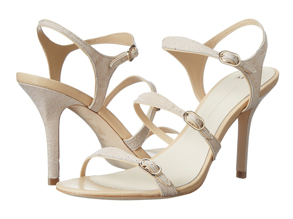 Aerin Caroline (Ecru Lizard Glitter Emboss) High Heels