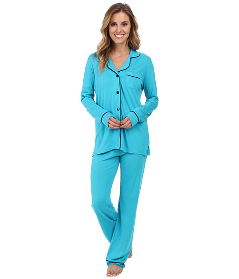 Cosabella - Bella PJ (Babylon Blue/Marine Blue) Women's Pajama Sets