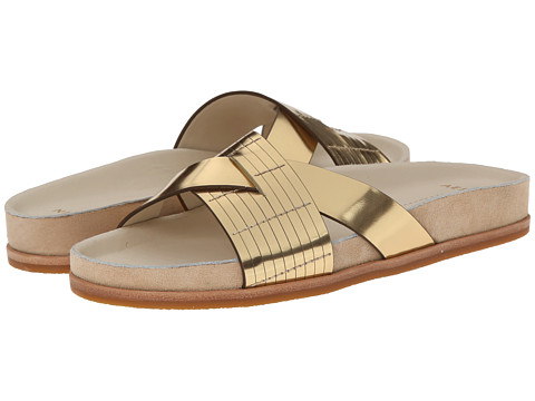 Aerin - Audra (Gold Mirror Metallic) Women's Sandals