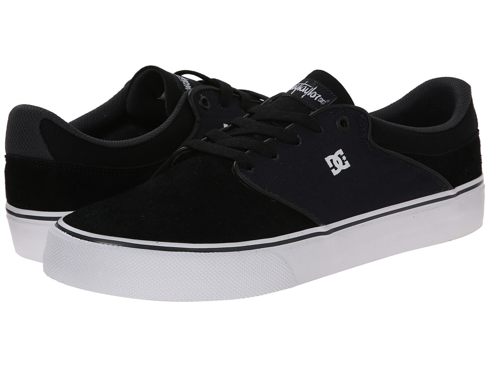 DC - Mikey Taylor Vulc (Black/Blue) Men's Skate Shoes