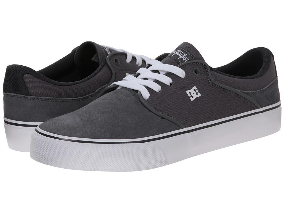 DC - Mikey Taylor Vulc (Dark Grey/Battleship) Men's Skate Shoes